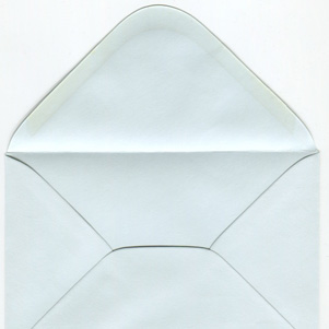 Envelope - light blue