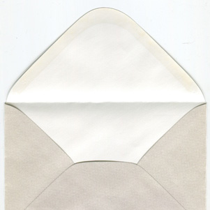 Pearl envelope - chequered pattern