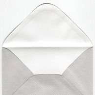 Decorative metallic envelope - strips C6