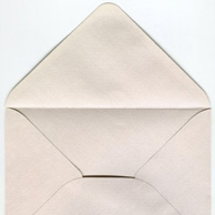 Decorative envelope opalescent C6