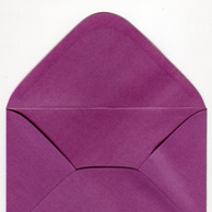 Decorative envelope pearl purple C6
