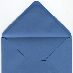 Pearl envelope - navy blue