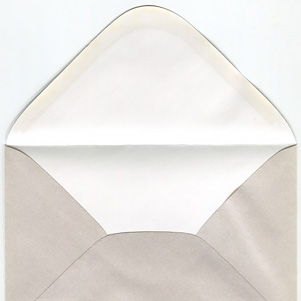 Pearl envelope - fabric pattern