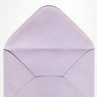 Decorative envelope pearl heather C6