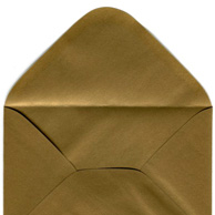 Decorative envelope pearl gold C6
