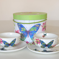 Two cups set - Butterfly
