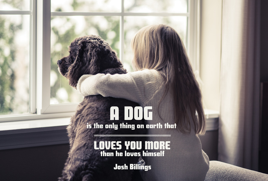 Quotes About A Girl And Her Dog Mesmerizing Quote 'A Dog Is The Only Thing On Earth That Loves' The Most
