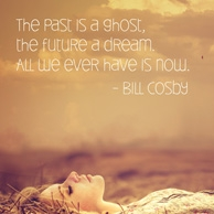 Quote 'The past is the ghost...'