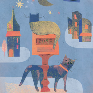 Cats and mailbox - Marianna Sztyma