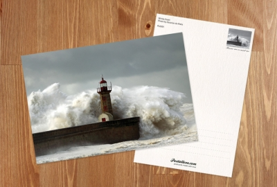 Lighthouse & storm