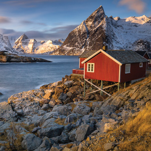 Winter in the Lofoten, Norway