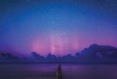 Aurora Borealis on Baltic