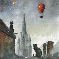 Grzegorz Chudy - Cats from Josselin