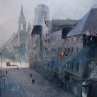 Grzegorz Chudy - An very old view on Szeroka Street