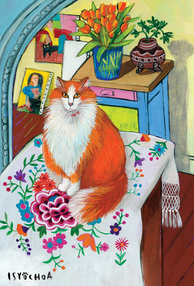Isy Ochoa - Cat in a studio