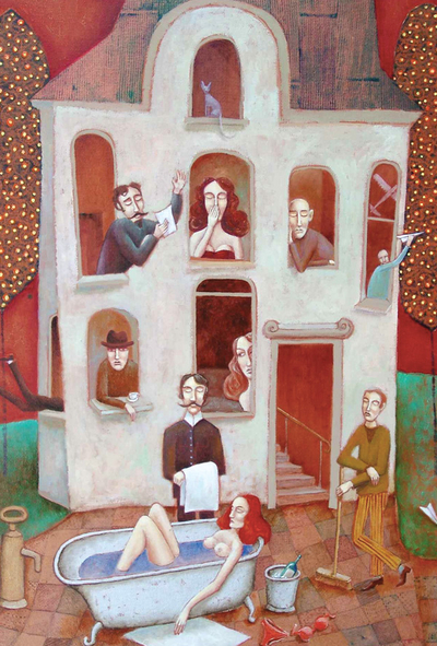 Wiktor Najbor - Tenement No.3. Eviction