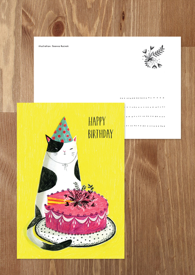 Joanna Rusinek - Birthday kitten