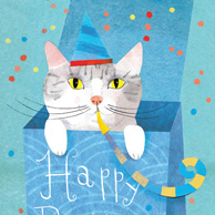 Marianna Sztyma - Birthday kitten