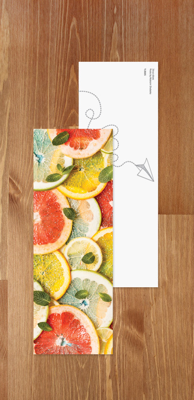 Bookmark - Citrus fruits