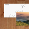 Bookmark - Mountains in the fog