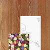 Bookmark - Colorful flowers