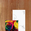 Bookmark - Colorful roses