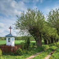 Poland - Love to be here... - Chapel on the way to the village, Mazovia