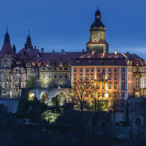 Poland - Love to be here... - Książ Castle