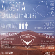 Greetings from ... Algeria