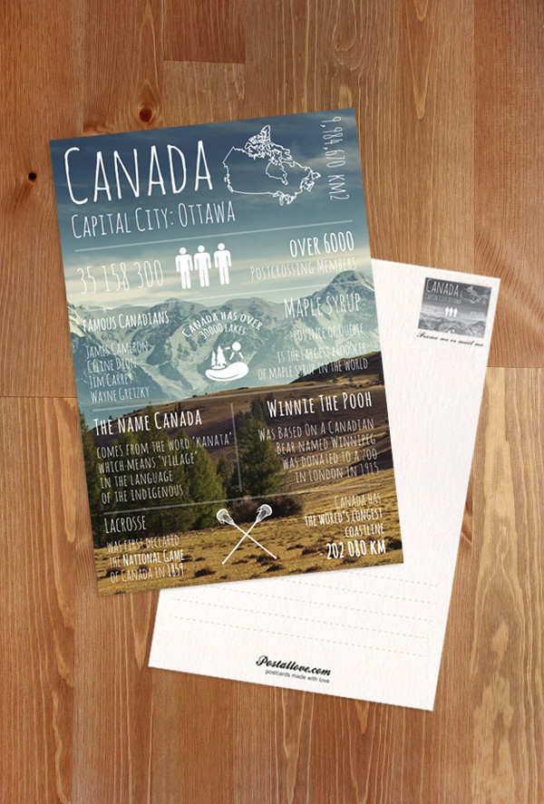 Greetings from canada greetings from series postcards canada greetings from canada m4hsunfo