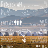 Greetings from ... Kyrgyzstan