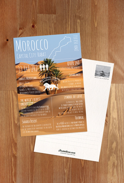 Greetings from ... Morocco