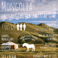 Greetings from... Mongolia