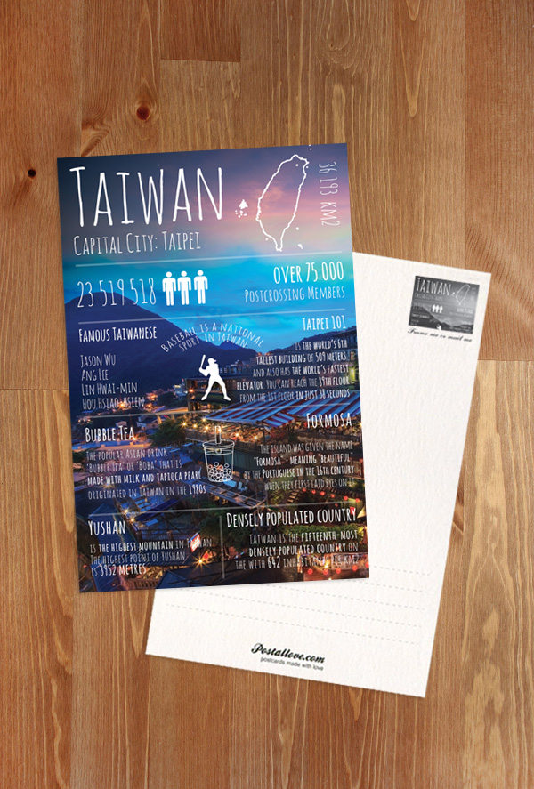 Greetings from taiwan greetings from series postcards taiwan greetings from taiwan m4hsunfo