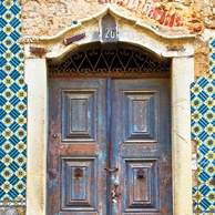 Antique doors in Portugal