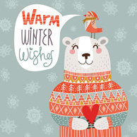 Warm winter greetings