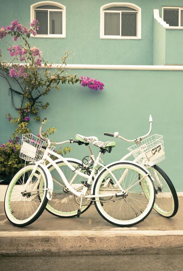 Two bikes Two bikes & Two bikes / Stairs doors and windows / Postcards / Postallove ...