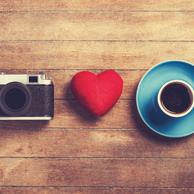 Coffee and camera