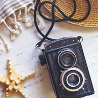 Holidays with an old camera