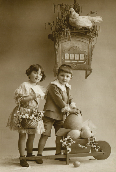 Easter greetings - children