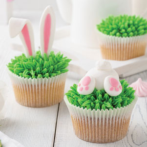 Funny Easter cupcakes