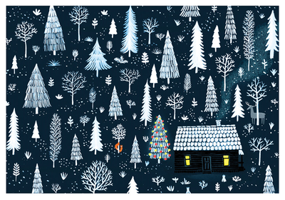 Joanna Rusinek - Winter cottage