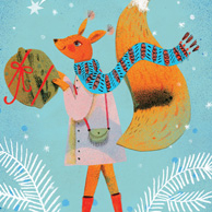 Marianna Sztyma - Christmas squirrel