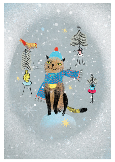 Marianna Sztyma - Christmas cat