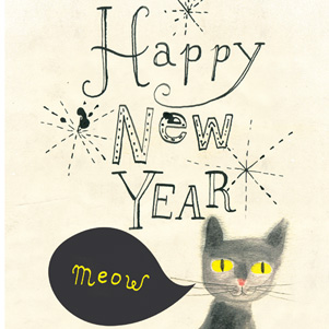 Marianna Sztyma - Happy New Year - Cat